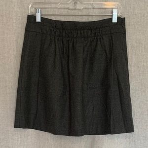 J. Crew Wool Skirt Gray Size 2